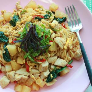 Photo of Shin Ramyun Chicken Breast Pineapple Fried Rice